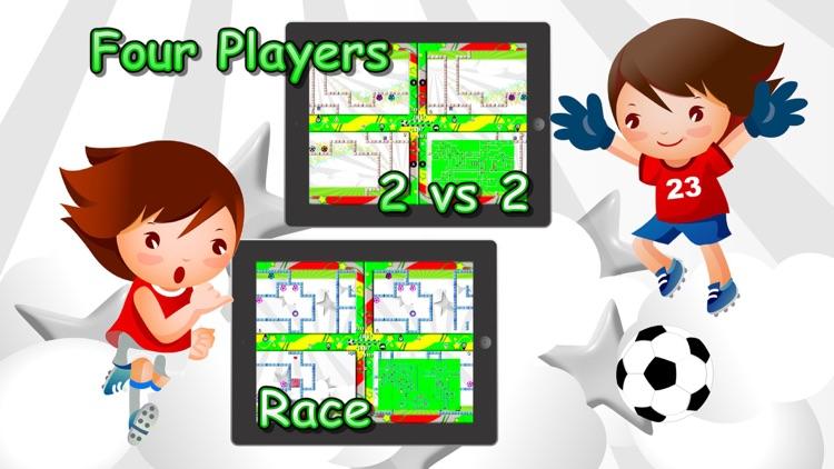 Soccer Mazes 2 Multiplayer screenshot-0