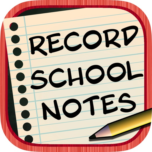 Record School Notes - Voice Recognition