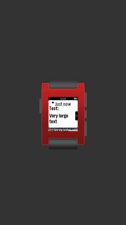 Larger Fonts for Pebble