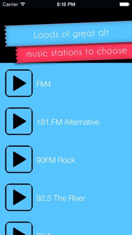 Alternative Music Radio screenshot-4