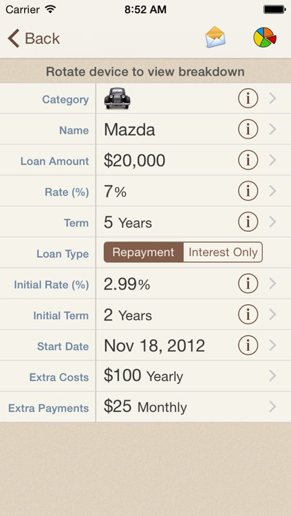 Loan Calculator +