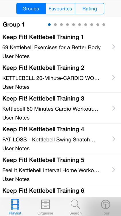 Keep Fit! Kettlebell Training screenshot-1