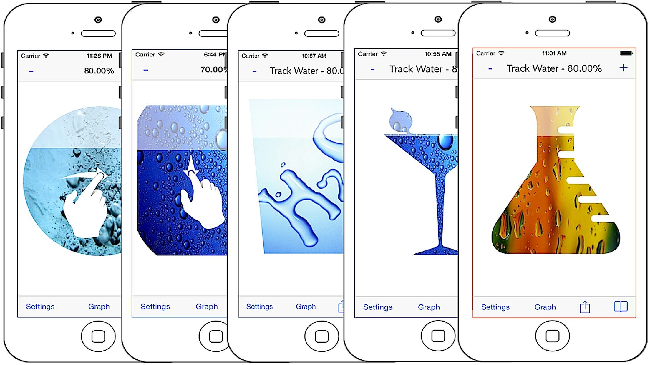 Screenshot do app Splashy Rastreador Água - Beber mais água, pista de ingestão diária de água, hidratação Obter lembrete