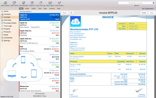 purchase order template for mac