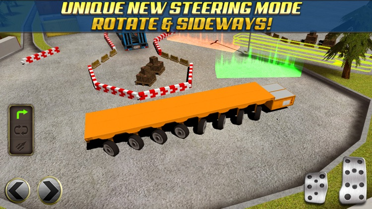 Extreme Truck Parking Simulator Game - Real Big Monster Car Driving Test Sim Racing Games
