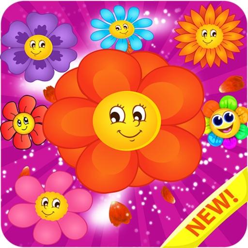 Fantasy Garden Flower: Blosoom Match
