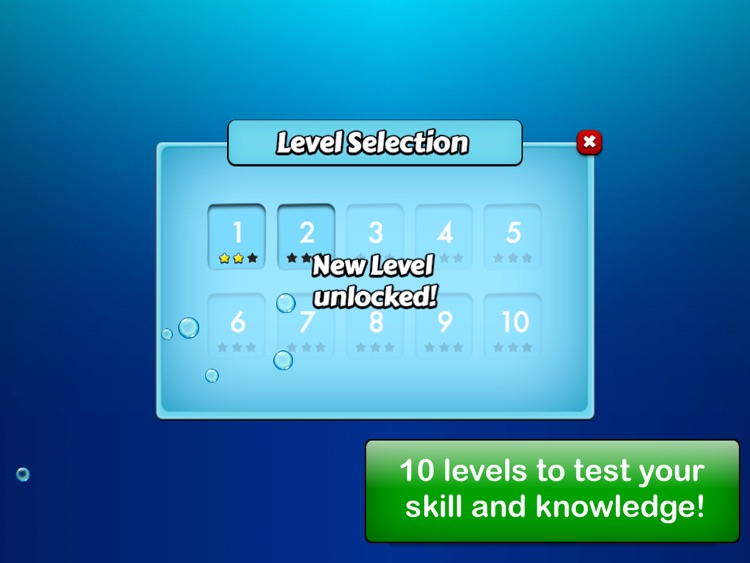 Diving quiz screenshot-1