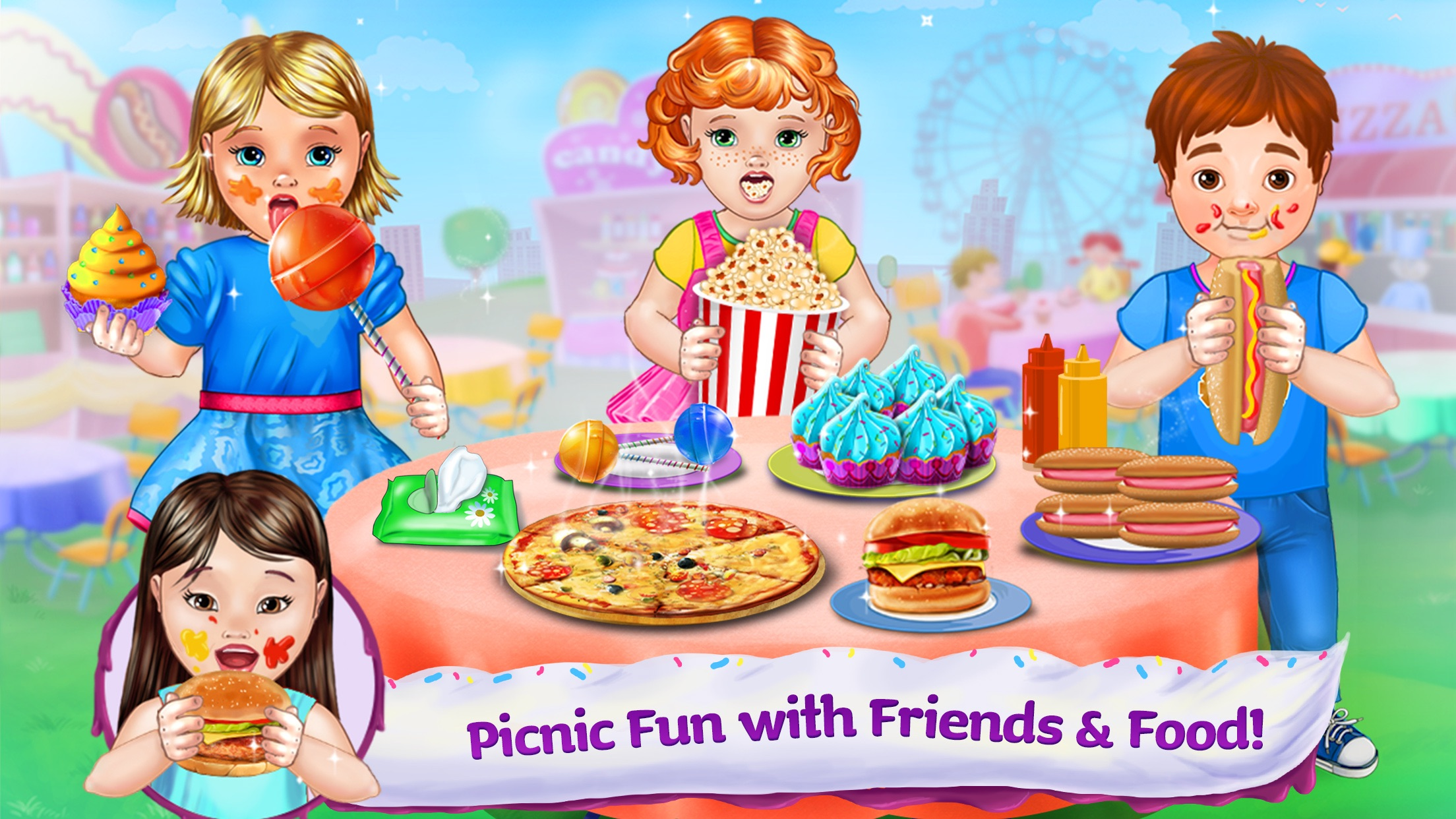 Baby Food Fair - Make, Eat, Play - Have Fun! Screenshot