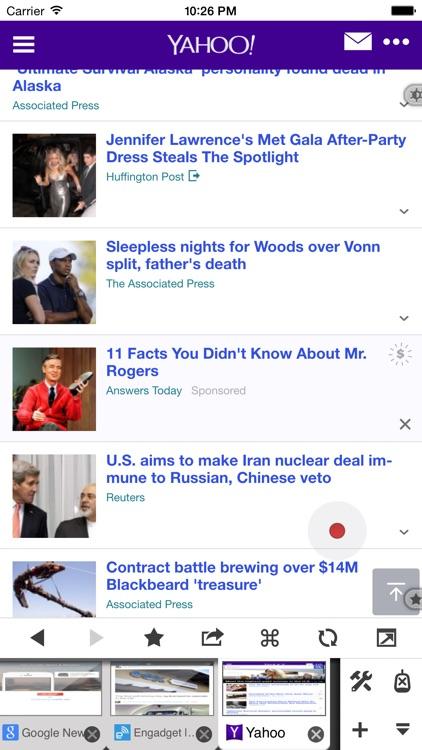 Maven Web Browser Plus - The most ergonomics friendly browser screenshot-0