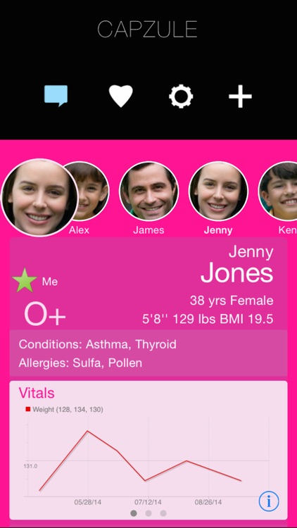 Capzule PHR - Your Personal Health Record. screenshot-3