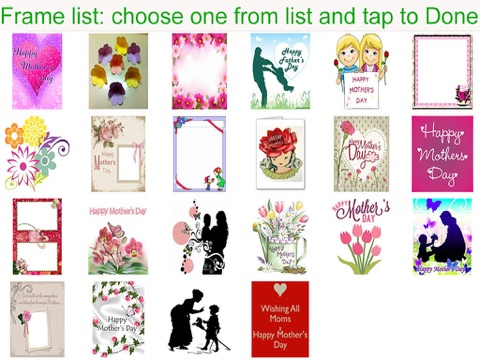 a m postcard maker and photo gallery design for happy mother s day