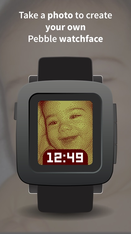 Photo Watch — Use a photo as a Pebble watchface