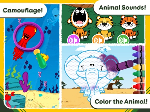 Crayola Colorful Creatures - Around the World!-ipad-2