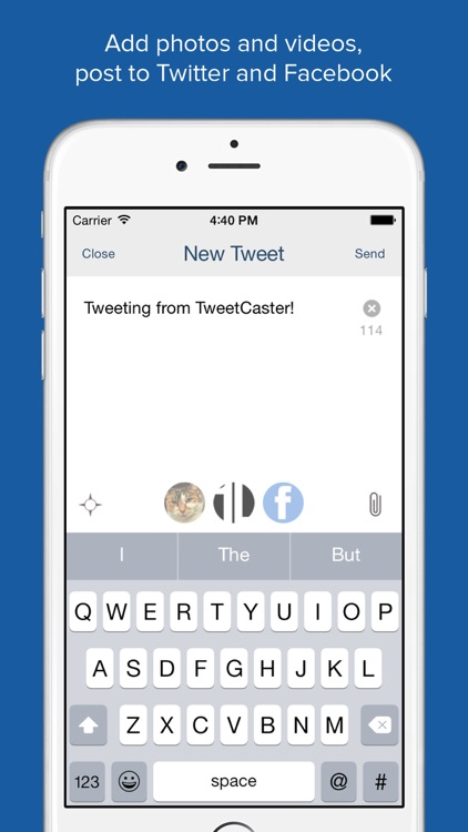 TweetCaster for Twitter screenshot-3