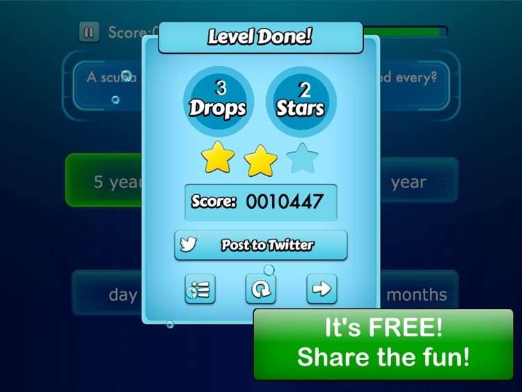 Diving quiz screenshot-3