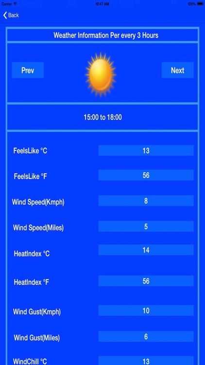 Historical Weather Conditions screenshot-1