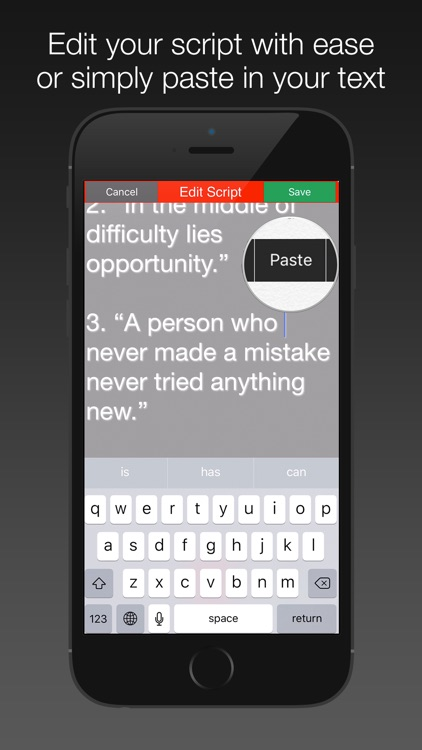 Video Teleprompter Pro Free