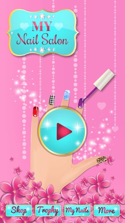 Celebrity Nail Art and Pretty Nail Polish Designs - Nail Makeover Salon screenshot-4