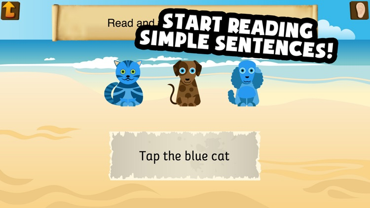 Pirate Phonics 3 : Kids learn to read! screenshot-3