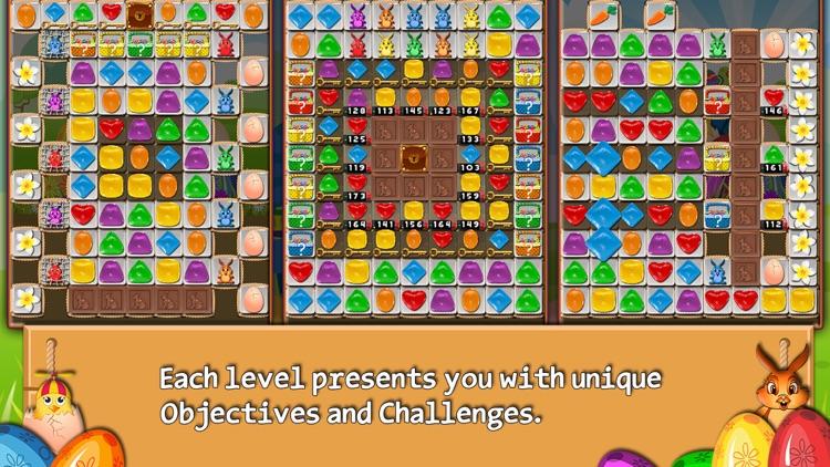 Bunny Drops - Match three puzzle screenshot-3