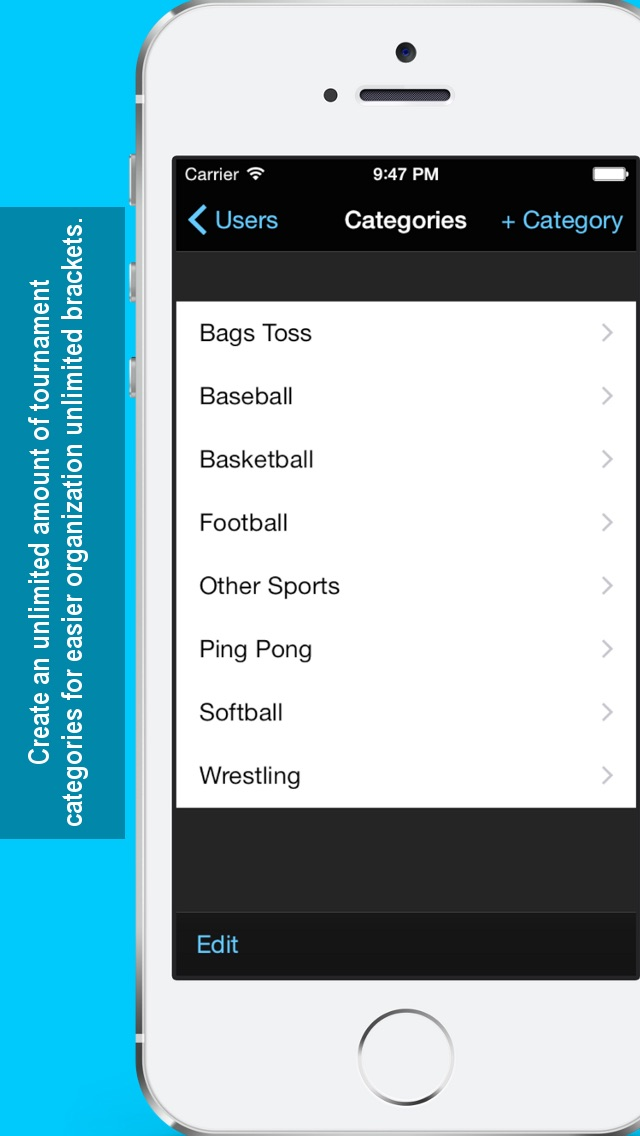 Screenshot for Bracket Maker in United States App Store