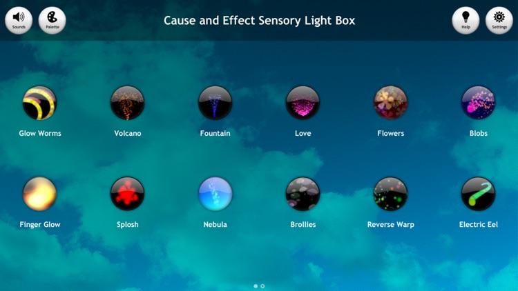 Cause and Effect Sensory Light Box screenshot-0