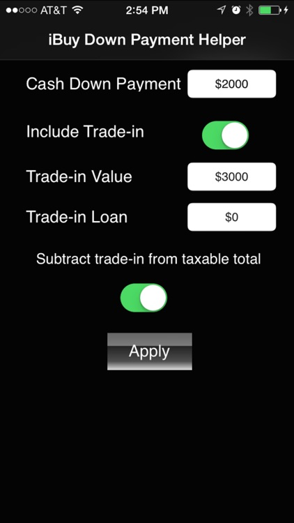 iLeaseMyCar Loan and Lease Payment Calculator screenshot-2