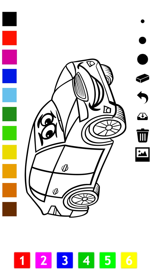 download A Cars Coloring Book for Boys: Learn to Color Pictures of Vehicles apps 3