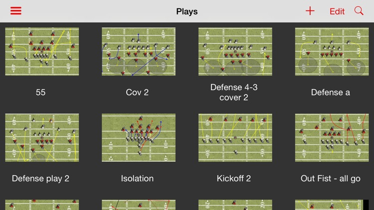 Team Playbooks Football