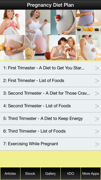 Pregnancy Diet Plan - Have a Fit & Healthy Pregnancy !のおすすめ画像1