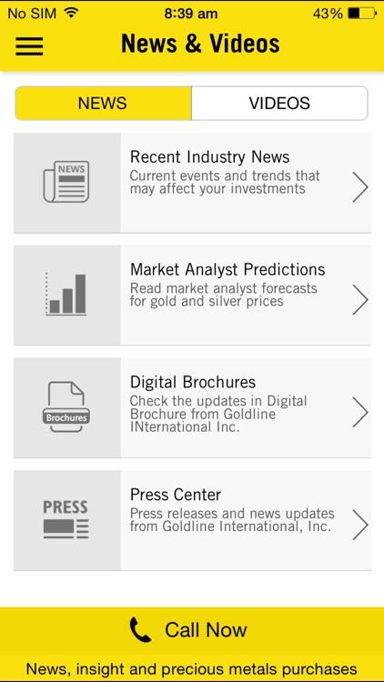 iGoldline Gold Prices and News screenshot-3