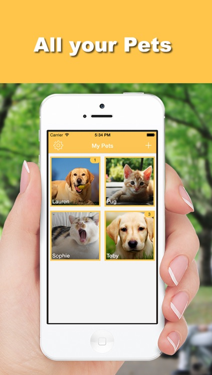 MyPets - Pets Manager screenshot-0