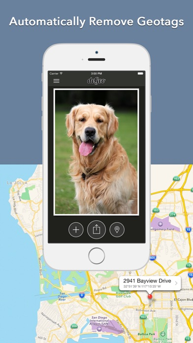 Price Drop: deGeo - Geotag Remover, EXIF Viewer Photo Privacy Tool  (Photography)