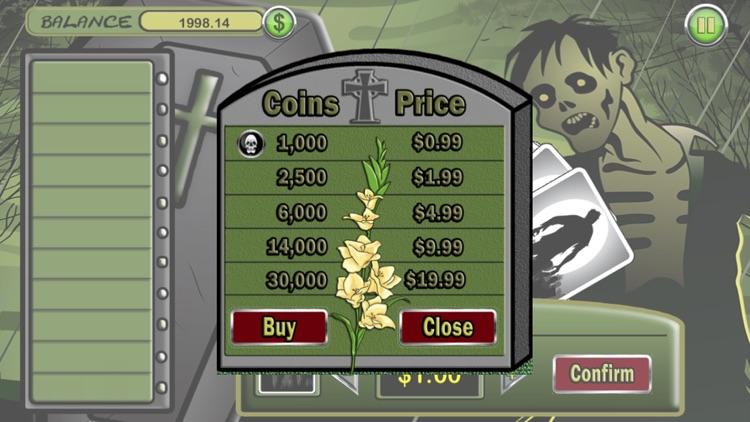 Zombie HiLo Free Card Game screenshot-4