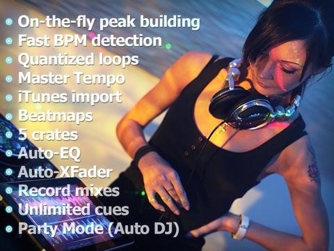 Touch DJ™ Evolution - Visual Mixing, Key Lock, AutoSyncのおすすめ画像5