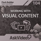 Course For Flash Builder 104 - Working with Visual Content icon