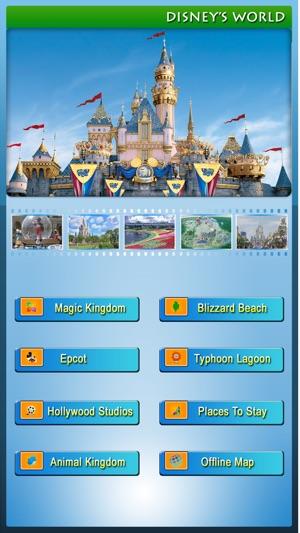 Disney world offline map guide on the app store screenshots freerunsca Gallery