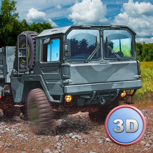 Army Truck Offroad Simulator 3D - Drive military truck!