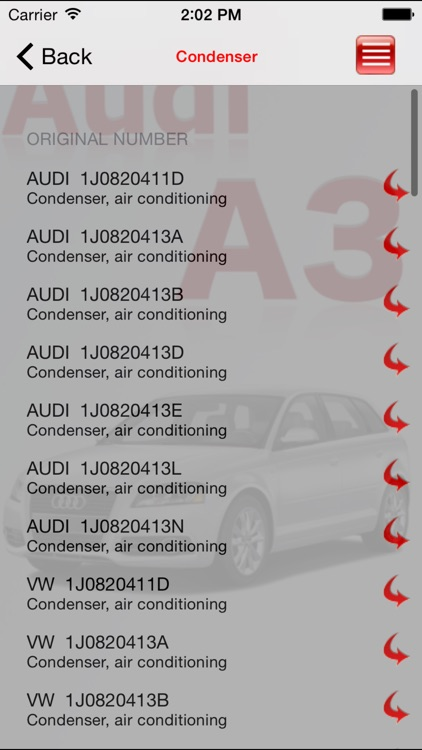 AutoParts  Audi  A3 screenshot-2