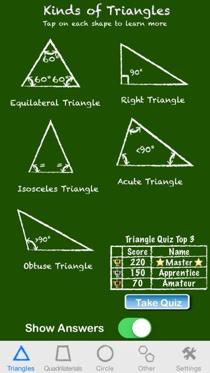 Math App  - Geometry I