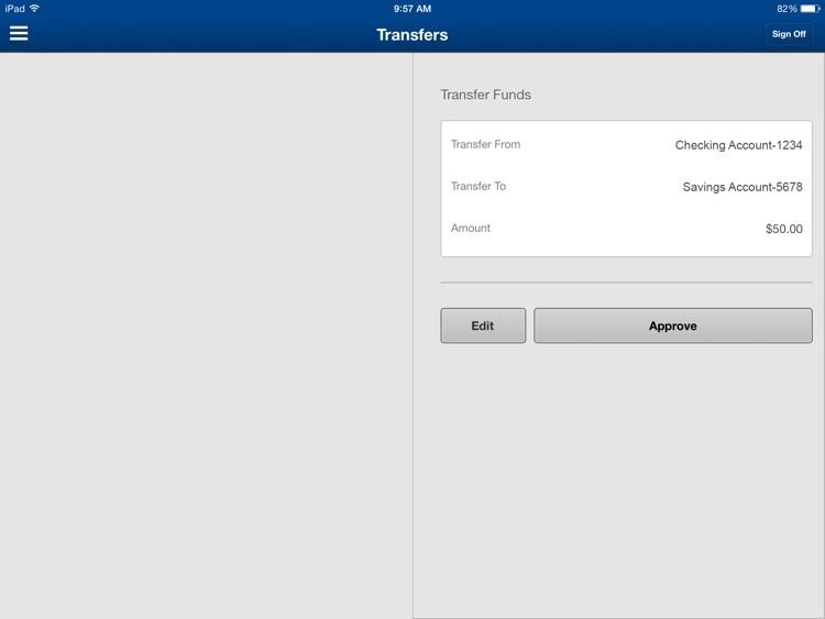 Amegy Mobile Banking for iPad screenshot-4