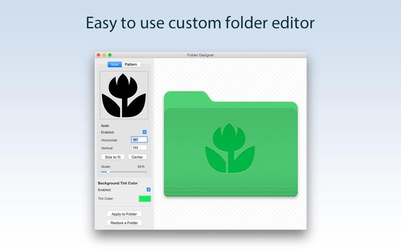 Folder Designer Screenshot