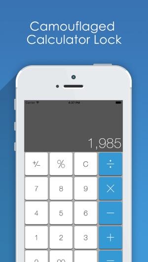 Private Photo Album - Secret Calculator to Hide Personal