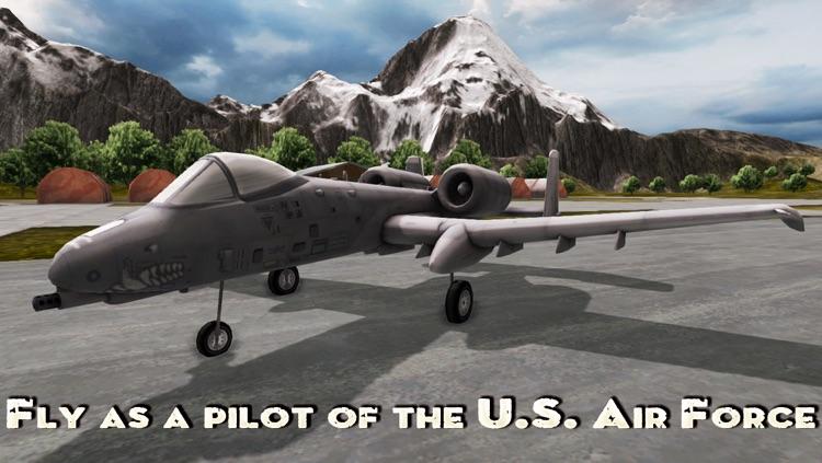 A-10 Thunderbolt - Tank Killer. Combat Gunship Flight Simulator screenshot-3
