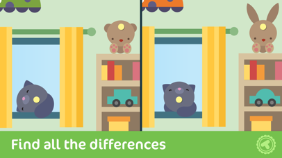 Toonia Differences - Find The Hidden Difference Between
