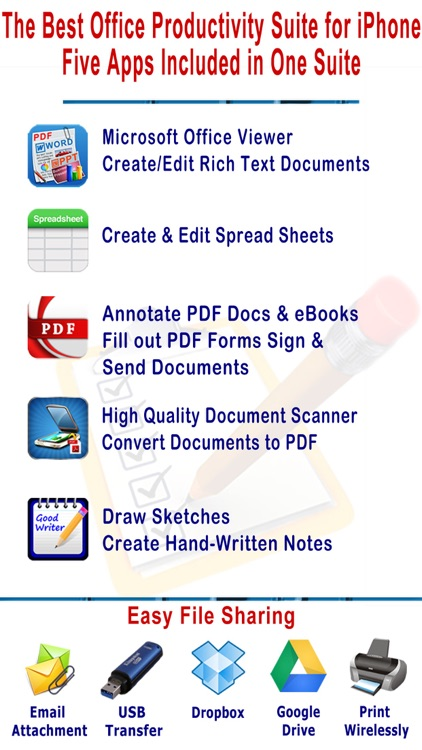 myOffice - Microsoft Office Edition, Office Viewer, Word Processor and PDF Maker