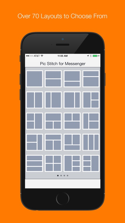 Pic Stitch for Messenger screenshot-4