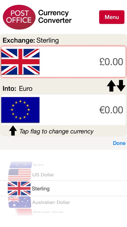 Post Office Currency Converter screenshot-3