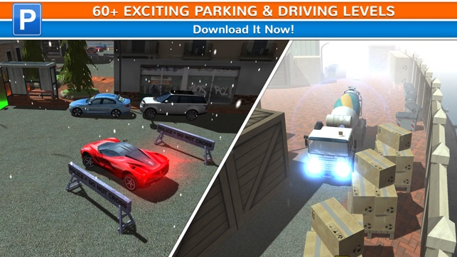 City Driving Test Car Parking Simulator Real Weather Racing Sim