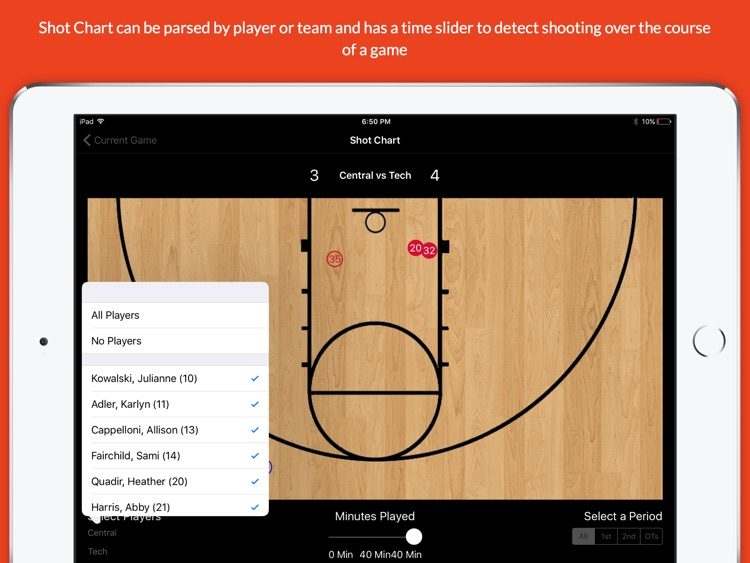 StatGeek Basketball screenshot-1